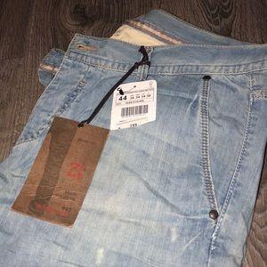 New - Vintage Lightweight Straight Leg Zara Jeans